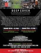 "Deep Cover ""Let your light shine in dark places"" Stage Play Production"