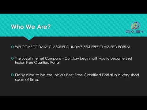 Free Classifieds Ads in India - IzyDaisy - Wiz For Biz Creative