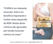 MSM e músculos