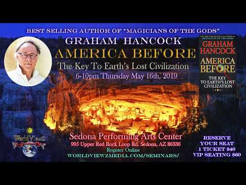 Synergy Lounge for America Before with Graham Hancock in Sedona May 16th