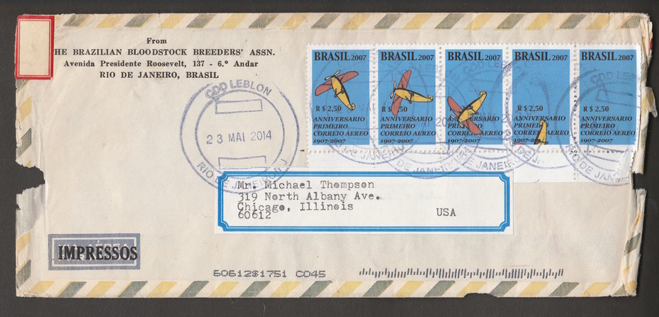 Anniversario of the First Airmail Flight