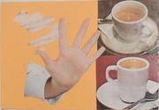 I send mail art coffee to Sergio della Giustina