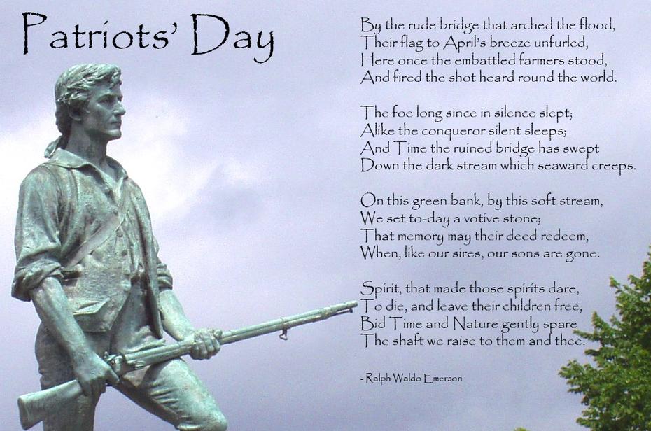 Patriots Day - Emerson