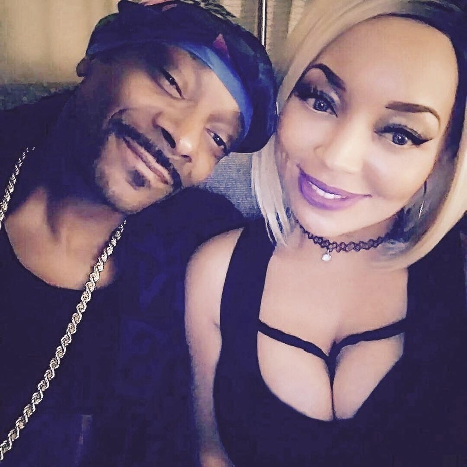 Richelle Richie and Snoop Dogg