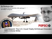 Media Mulls the Gov't Drone Striking NSA Whistleblower Edward Snowden