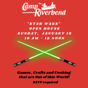 """Camp Riverbend """"Star Wars"""" Open House"""