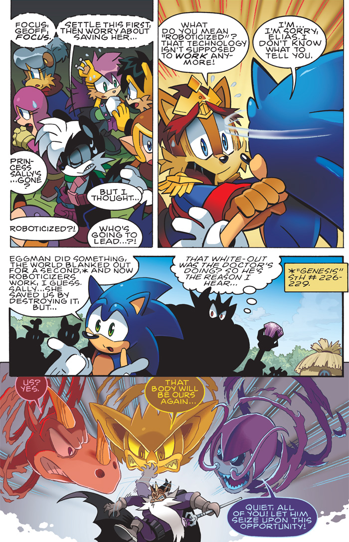 Preview Sonice The Hedgehog 232 Captain Comics