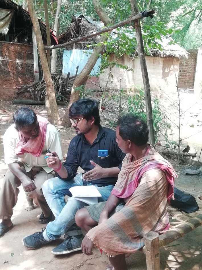 Linguistic field work at Jhargram for Mahali Language