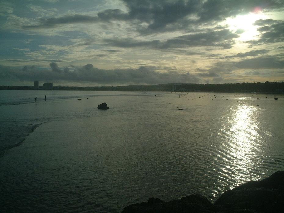sunrise on Agana Bay
