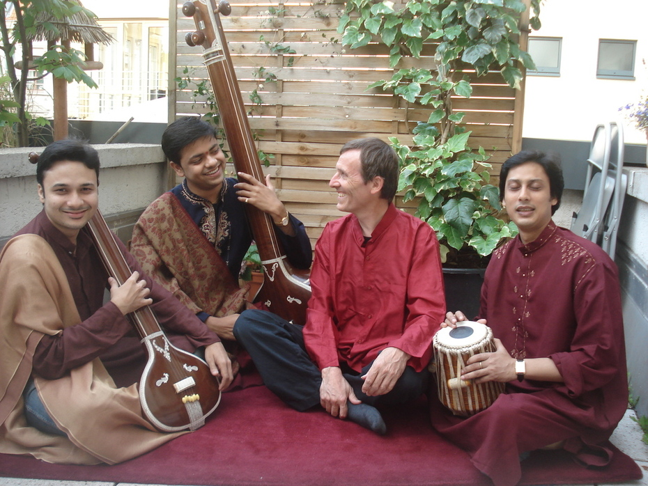 overtones and in with ragas