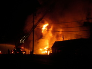 Sports Supply Store Fire