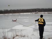Ice Rescue Drill