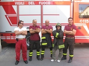 With good friends from Civitavecchia, Italy. Aug 2006