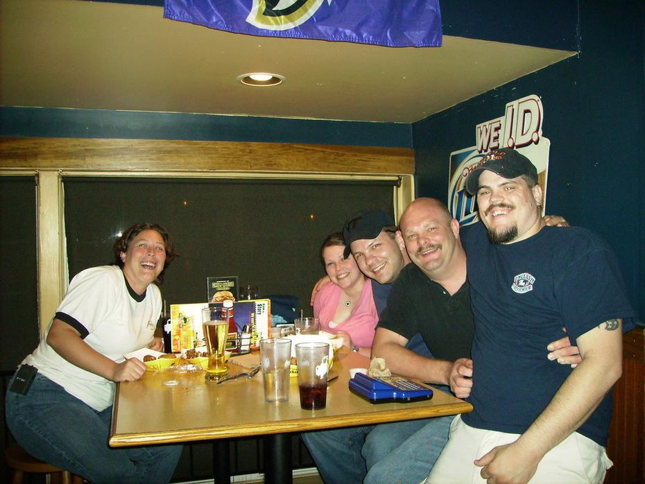 The Gang..... Katie, Eric, Bear, Doc, Kersten