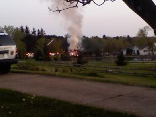 Structure Fire Ward Rd.