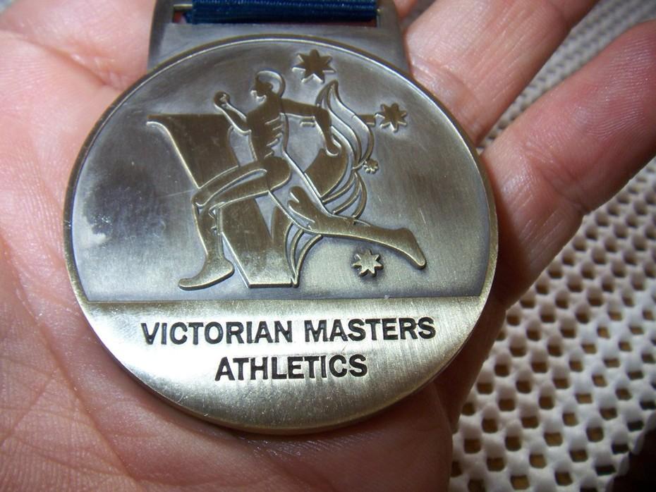 ビクトリア州マスタス優勝800メートル金メートル (3)