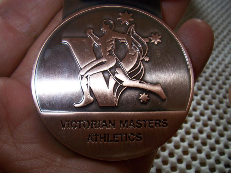ビクトリア州マスタス優勝400メートル銅メートル (4)