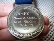 ビクトリア州マスタス優勝800メートル金メートル (2)