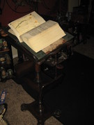 Book stand for altar room