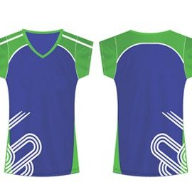 wholesale bright smart netball t-shirt suppliers