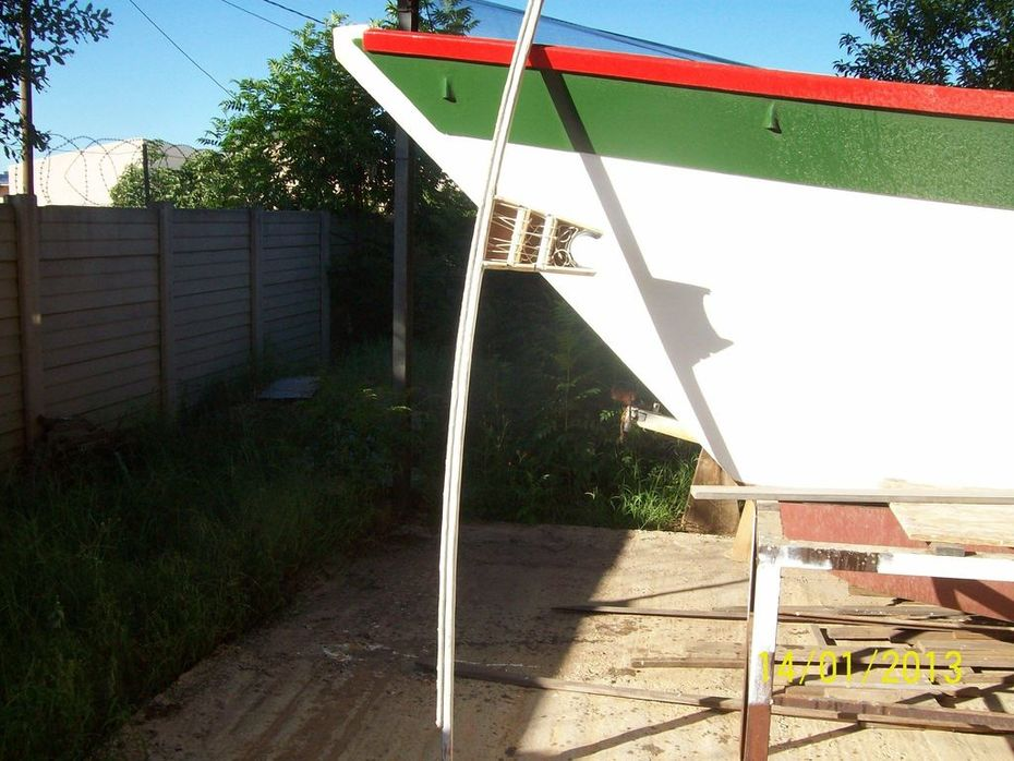 yard with mast connection