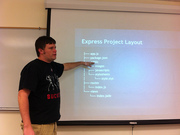express.js with Jackie Gleason at OrlandoJUG