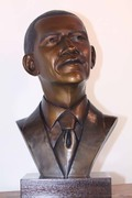 Barack Obama Bust Sculpture