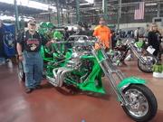 Jam On Productions Indoor Motorcycle Swap Meet Harrisburg 2019 Paul's Green Monster