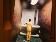 "The ""Solitary Confinement"" hearing displayed a gallery of photos with young offenders in isolation."