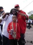 Fiya and Seventeen and Pimp C's son Corey
