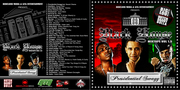 Front & Back View- Black House Mixtape Volume 1.5 Presidential Swagg