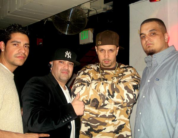 THE CREW WITH LEGENDARY DJ TONY TOUCH IN DENVER!