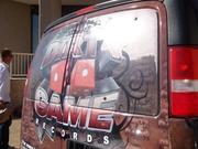 Dirty Game Wrap Van