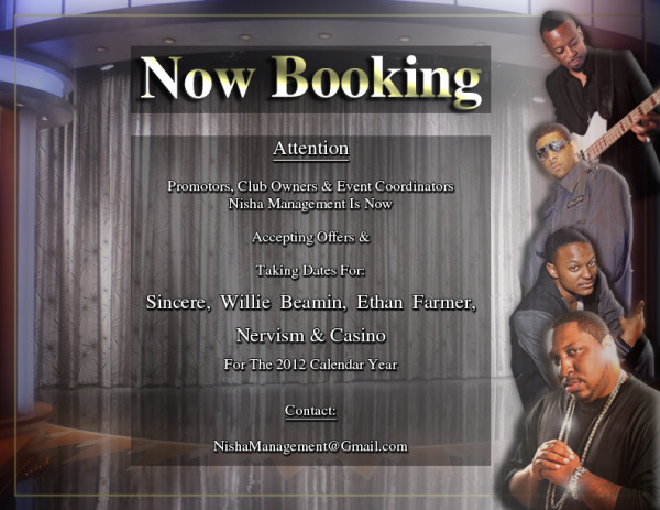 NM Booking Now Available