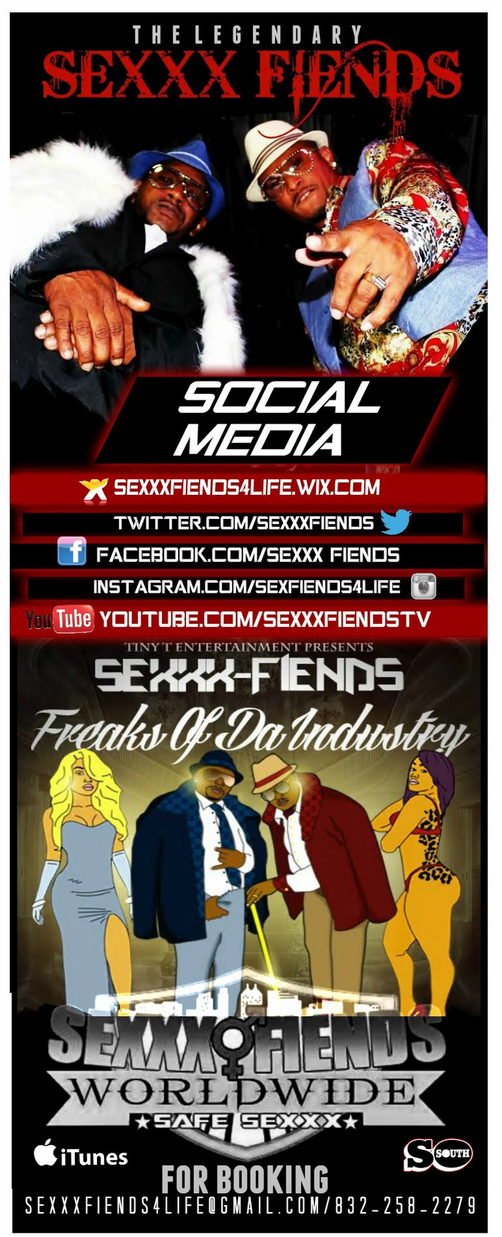 LEGENDARY GROUP SEXXX FIENDS