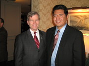 Bob McDonnell and Rafael Lopez
