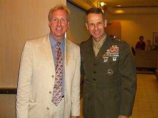Hartwell and CJCS Peter Pace