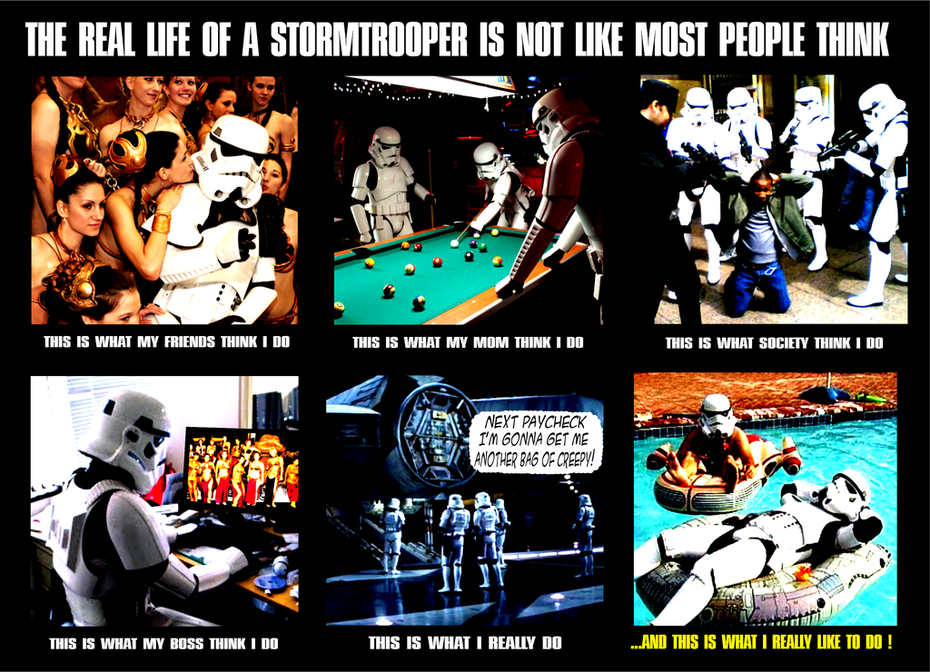 LIFE OF A STORM TROOPER