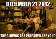 The Clowns are prepared