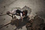 afghan brick worker