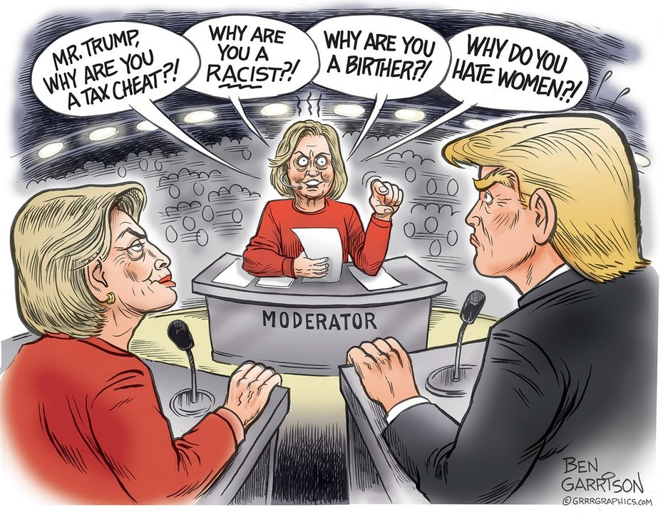Ben Garrison's New Cartoon! #TrumpWon