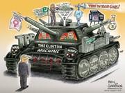Ben Garrison's New Cartoon! TIME MACHINE