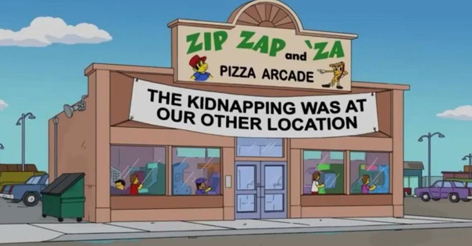 The Simpsons Knew About Pizza Connection in 2011?