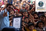 Indian Artist Sujit Das sets Guinness World Records