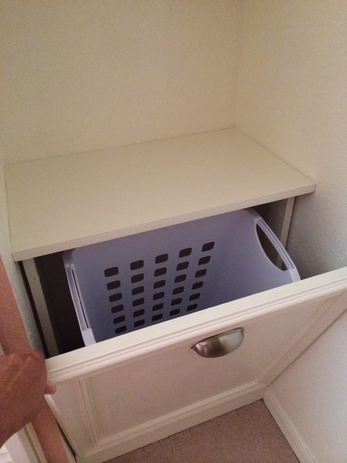 Built-In Laundry Cabinet