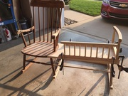 Rocking chair cradle