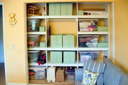 Sewing Room Storage System
