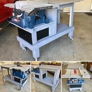 Mobile Table Saw Unit