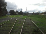 Nu Forest Products spur and Healdsburg scale track