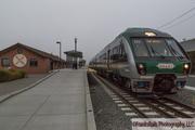 Petaluma's Gap Of Foggy Trains